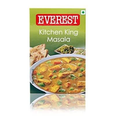 kitchen king masala 100 gram by everest brand