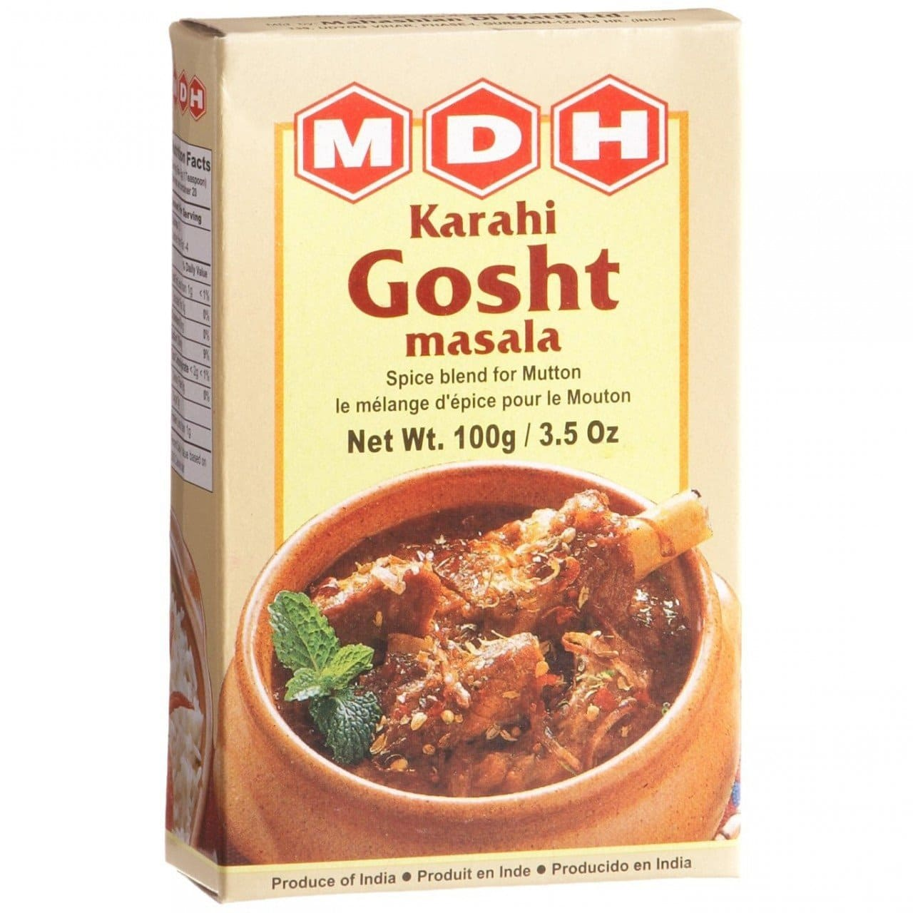 Karahi Gosht Masala 100Gm by MDH Brand