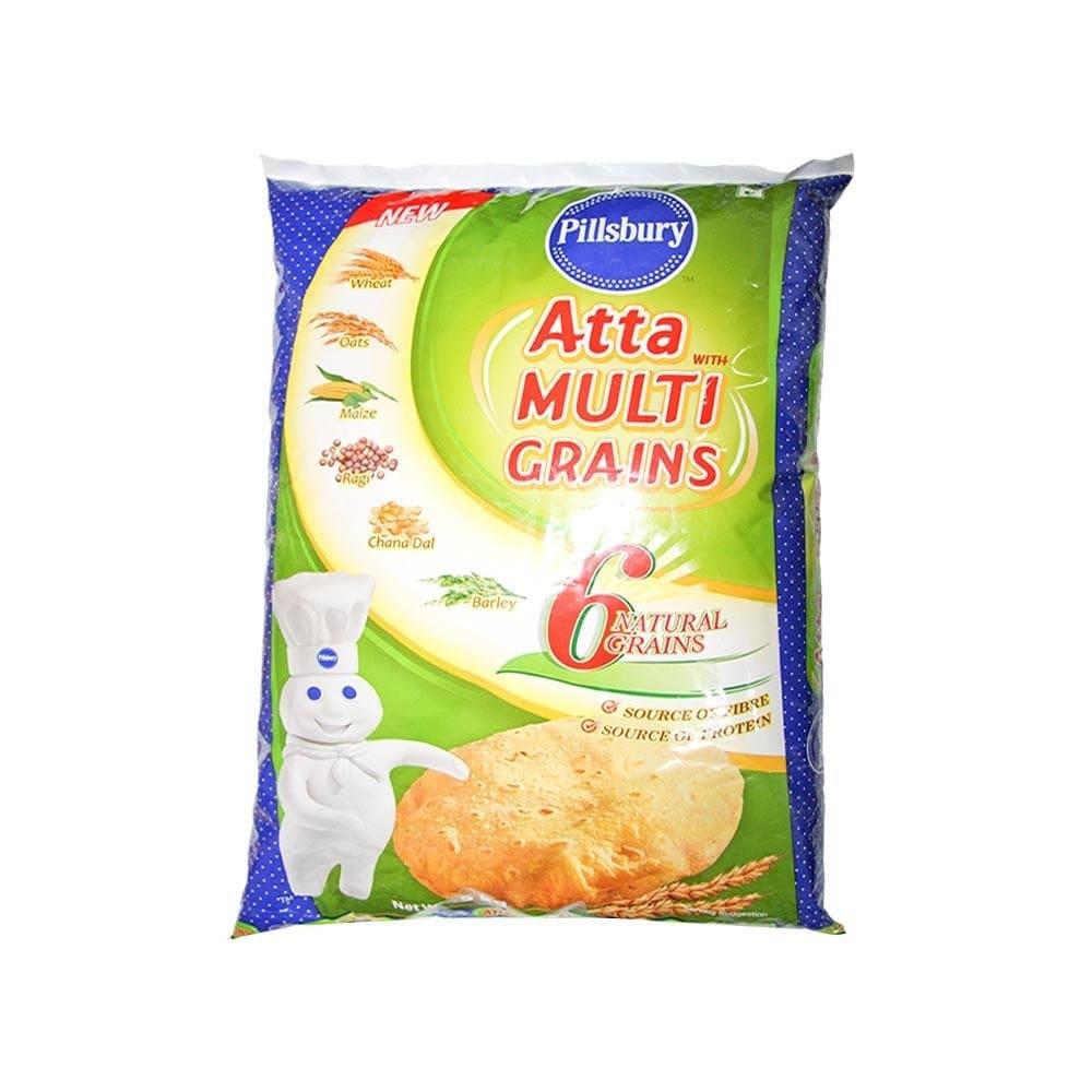 Multigrain Flour 5Kg by Pillsbury Brand