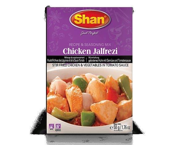 Chicken Jalfrezi Mix 50Gm by Shan Brand