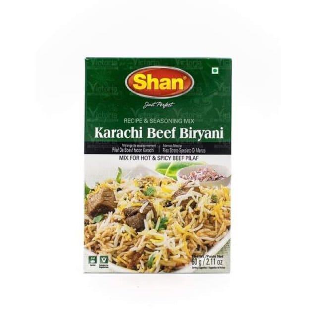 Karachi Beef Biryani 60 Gms by Shan Brand