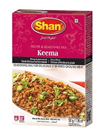 Keema Curry Mix 50Gm by Shan Brand
