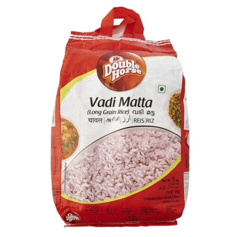 quality vadi matta rice 10kg by double horse brand