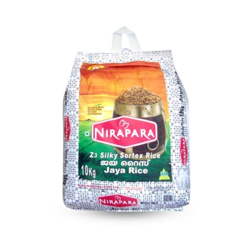 Jaya Rice 10Kg by Nirapara Brand