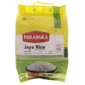 Jaya Rice 5kg by Nirapara Brand