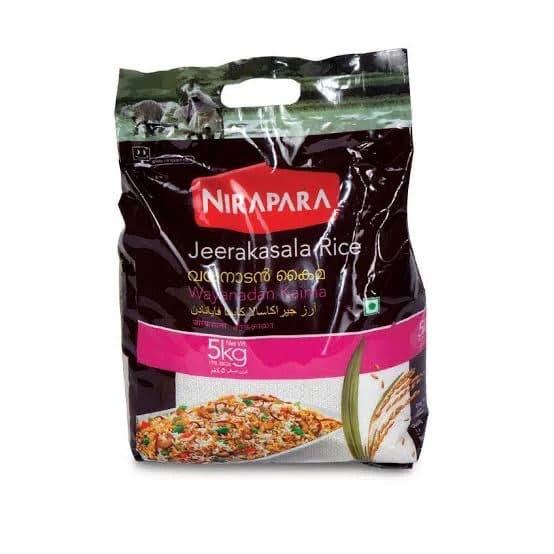 Jeerakasala Rice 5Kg by Nirapara Brand