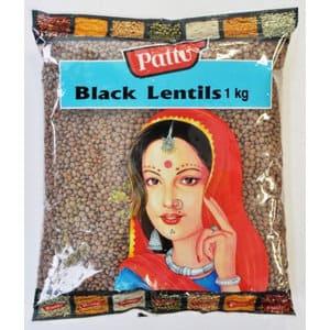 Black Lentils 5Kg by Pattu Brand