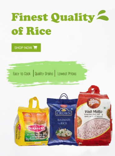 explore our wide variety of basmati rice