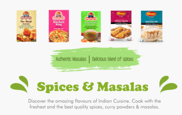 explore the variety of indian masalas