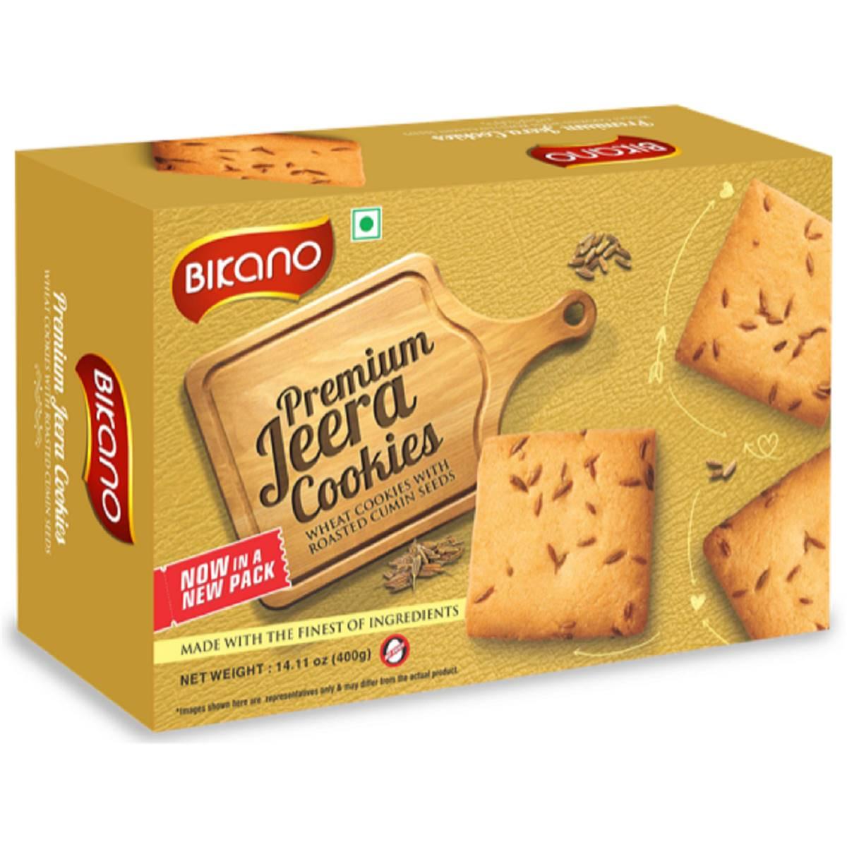 Buy Bikano Jeera Cookies 400gm