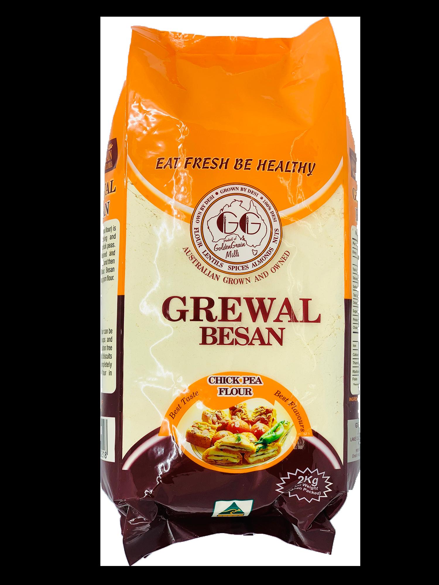 Buy Grewal Besan Chick Pea Flavour Flour Melbourne