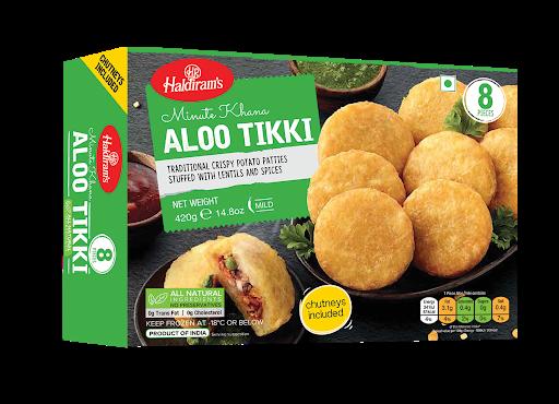 Buy Haldiram Aloo Tikki 8 Pc