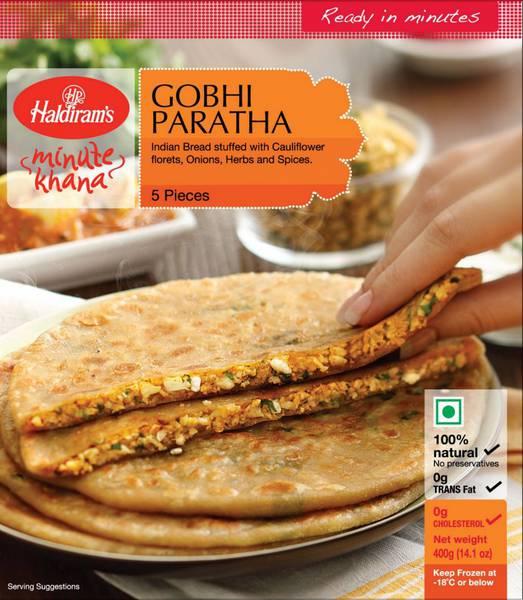 Buy Haldiram Gobi Paratha 400 GM