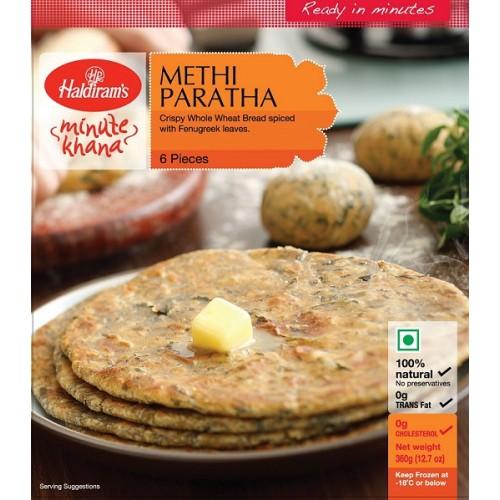 Buy Haldiram Methi Paratha 360 GM