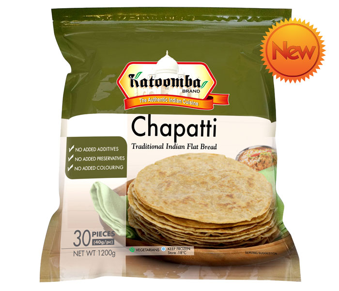 Buy Katoomba Chapati 30 Pieces Melbourne Online
