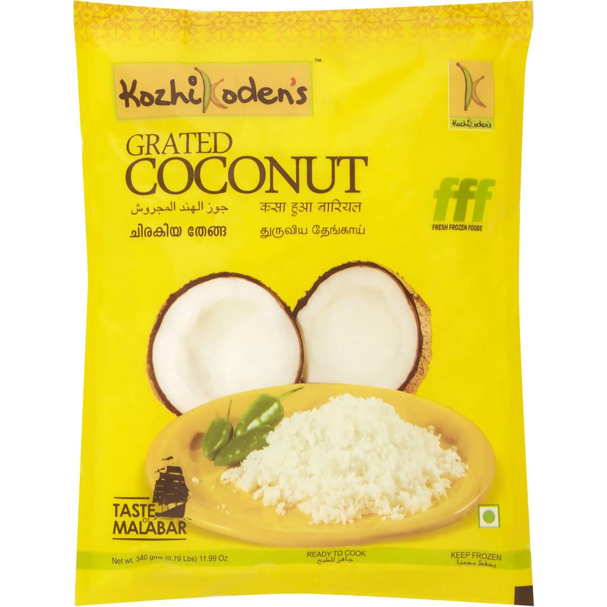Buy Koshikodens Grated Coconut 340gm Online