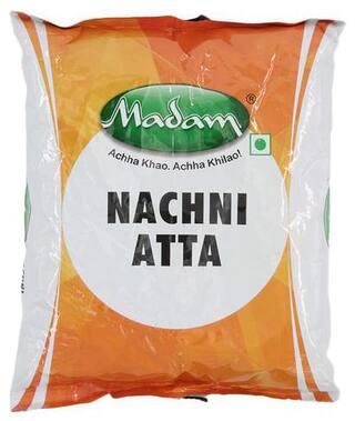 Buy Madam Ragi Flour Nachni Atta 1kg Online