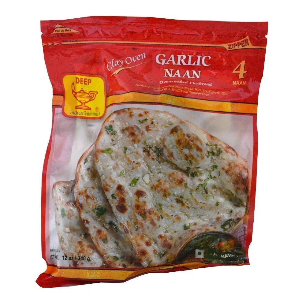 Buy Pattu Garlic Naan 4 Piece Online Melbourne