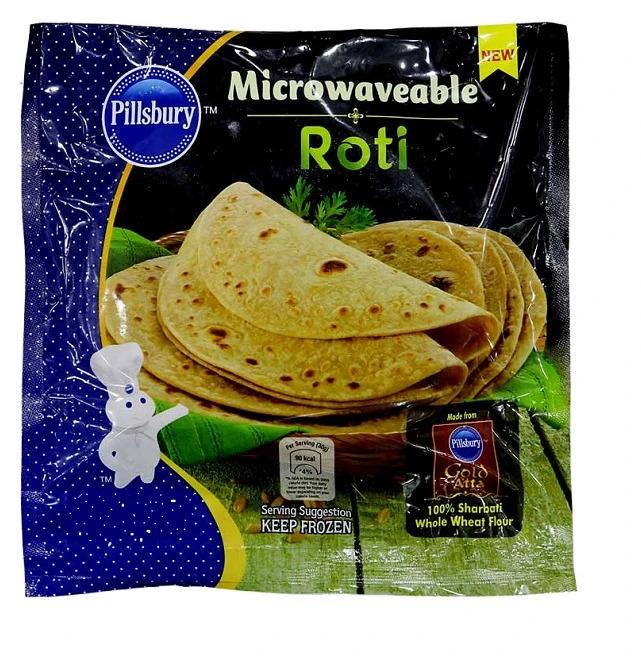 Buy Pillsbury Microwaveable Roti 30 Piece Online