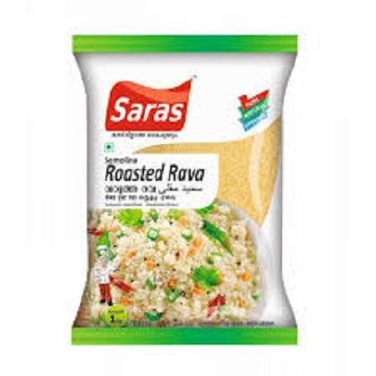 Buy Saras Roasted Rava 500gram
